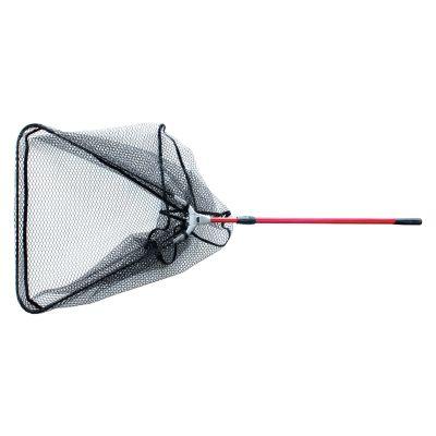 Patriot schepnet voor roofvis met telescopische steel driehoek